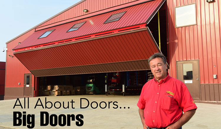 All about doors... big doors